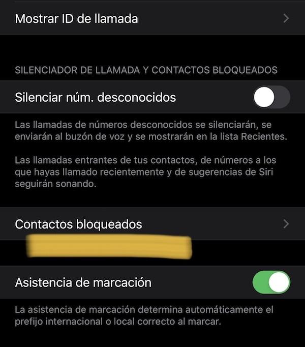 ¿Cómo puedo bloquear un número de teléfono? 3