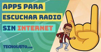 Las mejores apps para escuchar radio sin tener conexión a Internet
