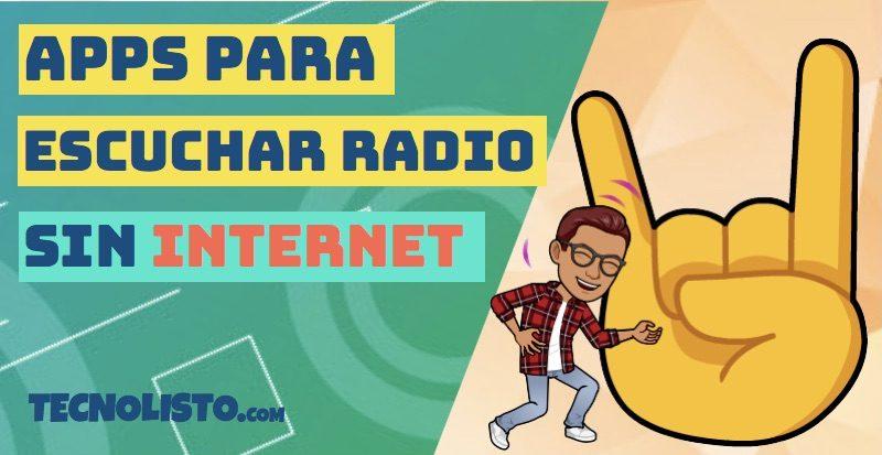 Las mejores apps para escuchar radio sin tener conexión a Internet 1