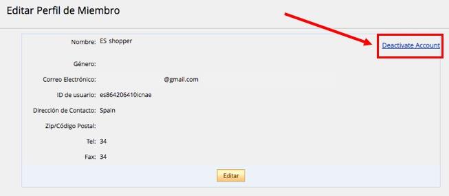 ¿Cómo puedo cerrar mi cuenta de AliExpress? 7