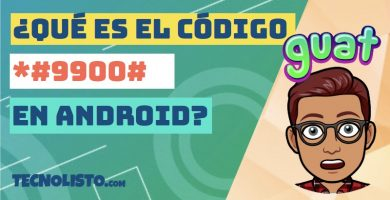 ¿Para qué sirve el código *#9900# en Android?
